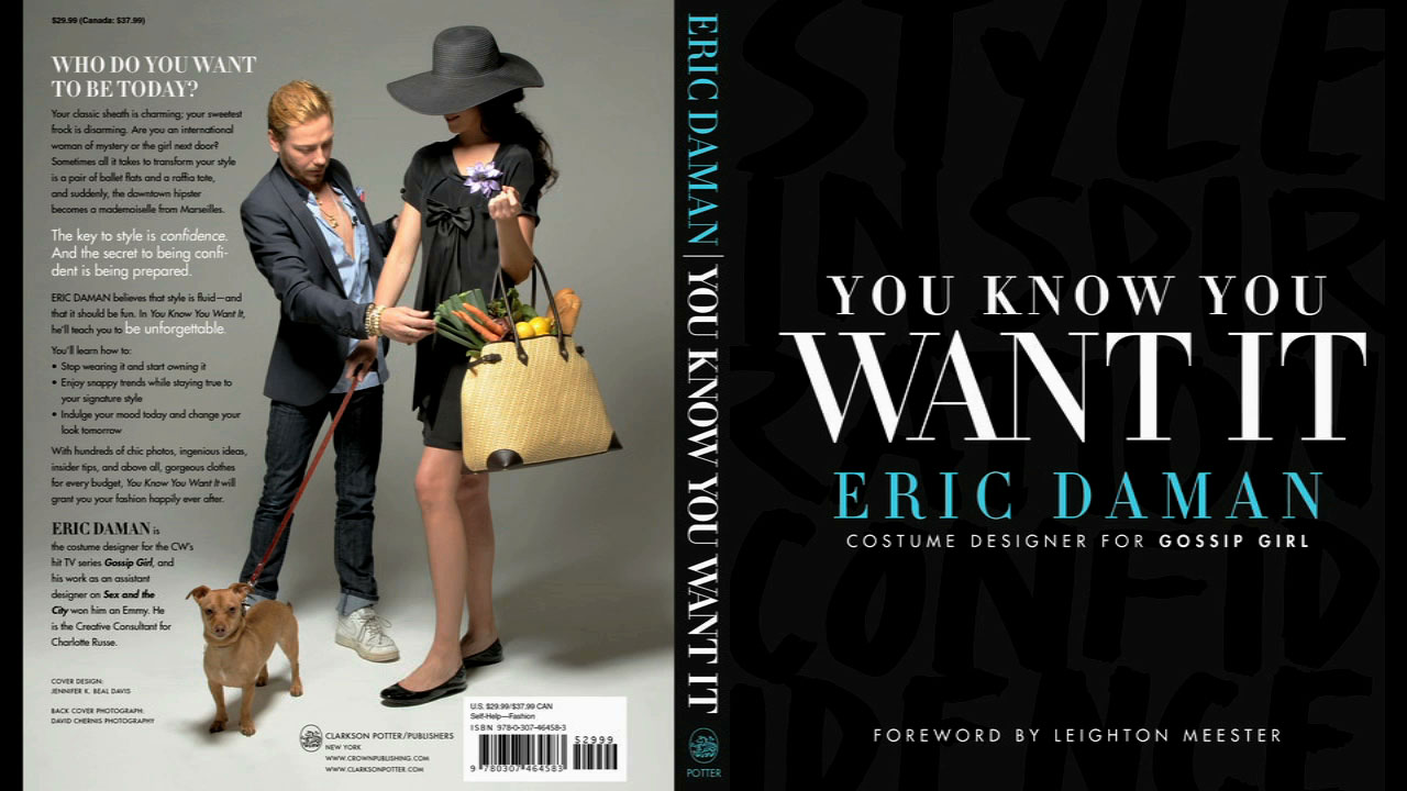 Commercial for Eric Daman's Fashion forward book - You Know You Want It